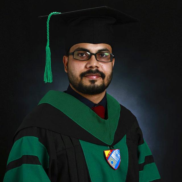 Congratulations to Dr. Shubham Saket